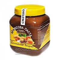 Паста арахисовая с медом и кэробом ТМ Manteca 450г