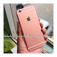 Наклейка Роуз Rose для iPhone 6 Plus/6s Plus Розовое золото