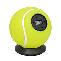 Будильник антистресс «Тенисный мяч» Будильник  Мяч об стенку, фото 1