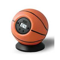 Будильник антистресс «Баскетбольный мяч» Будильник  Мяч об стенку, фото 1