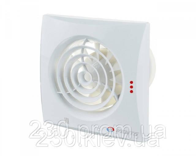 Вентилятор Вентс 125 Квайт ВТН с выключателм и реле влажности