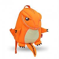 Nohoo Рюкзак Большой Оранжевый Динозаврик
