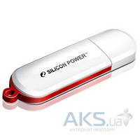 Флешка Silicon Power LUX mini 320 8Gb White