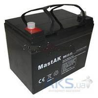 Аккумулятор для ИБП MastAK 12v 33Ah (MA12-33)