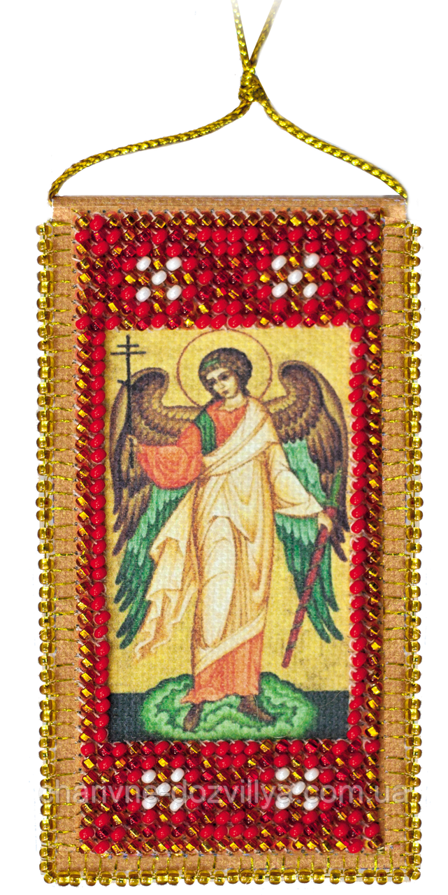 "Набор-оберег для вышивки бисером ""Молитва Ангелу Хранителю"""