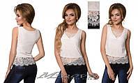 Блуза №4060-белый