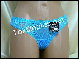 Трусики стринги Coeur joie голубой 9619
