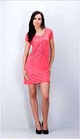 Сорочка ночная женская летняя, Fabio (одежда для дома и отдыха, ночная рубашка)
