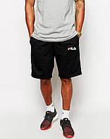 Черные спортивные шорты фила