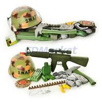 Limo Toy Акция! Детский игровой набор военного Limo toy 66686 S.W.A.T.. Скидка 7 % при покупке двух видов оружия! Спешите, количество товара