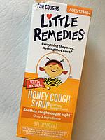 Натуральный сироп от кашля Little Remedies Honey Cough Syrup, фото 1