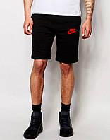 Мужские черные шорты найк