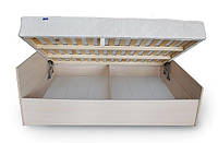 Кровать  5 с каркасным матрасом (пружинный блок POCKET SPRING) на подъемном механизме, фото 1