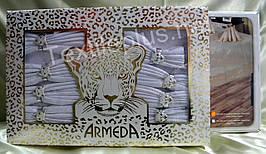 Скатерть  Armeda  160*220 + 8 салфеток  с кольцами -Турция - (kod 1854)