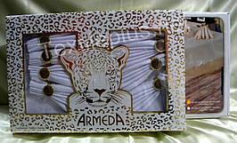 Скатерть  Armeda  160*220 + 8 салфеток  с кольцами -Турция - (kod 1855)