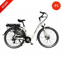 Электровелосипед Rover City White