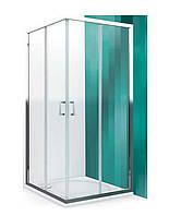 Душова кабіна Koller Pool Liga Line LLR2 90x90 прозора + поддон Round + сифон
