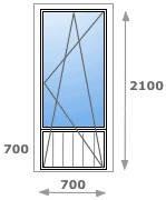 Купить пластиковые двери Ирпень (044) 331-12-86,  Металлопластиковая дверь Rehau Ирпень