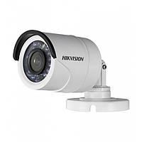 Камера Hikvision DS-2CE16D0T-IR (3.6) аналоговая угол обзора 82° 2.0 Мп