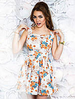 Платье легкое с пышной юбкой №06-Р.  (СВИК)