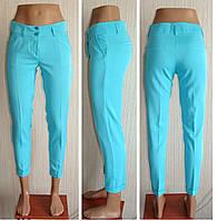 Женские брюки летние укороченные.