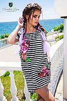 Платье КРВ № 469