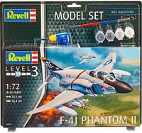 Model Set Самолет F-4J Phantom II, 1:72, Revell (63941)