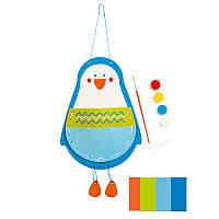 Набор для вышивки и раскрашивания Пингвин HAPE (E5132)