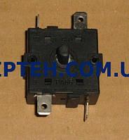 Переключатель режимов для тепловентилятора  3 положения 15A 5 клем