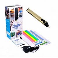 3D-ручка 3Doodler Create для проф использования - ЗОЛОТАЯ (50 стержней из ABS-пластика, аксесс )  (3DOOD-CRE-BUTTER-EU)