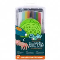 Набор аксессуаров для 3D-ручки 3Doodler Start - ЮВЕЛИР (48 стержней, 2 шаблона)  (3DS-DBK-JW)