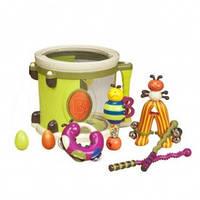 Музыкальная игрушка – ПАРАМ-ПАМ-ПАМ (8 инструментов, в барабане) Battat (BX1007Z)