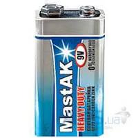 Элемент питания MastAK (крона) (6F22 ) Super HD 1шт