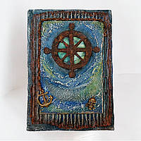 Винтажный ежедневник блокнот морской тематики Деловой подарок моряку , фото 1