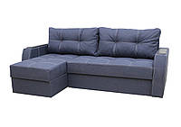 Угловой диван Garnitur.plus Лорд синий 220 см