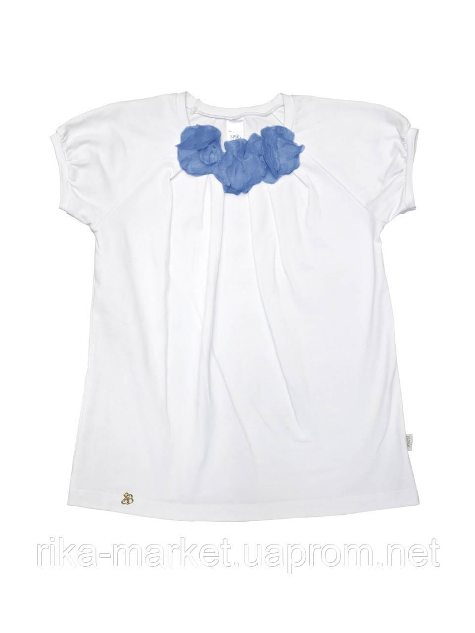 Блуза для девочки короткий рукав арт. 114423