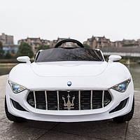 Детский электромобиль 8808 Maserati Белый