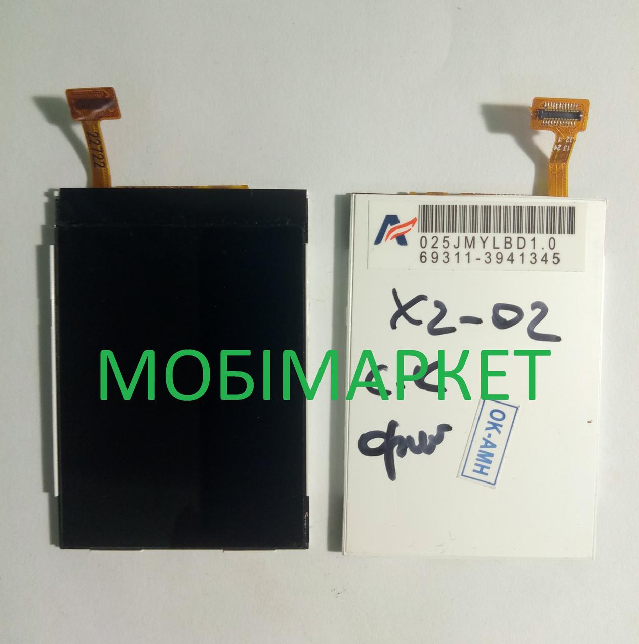 Дисплей для Nokia X2-02, X2-03, X2-05