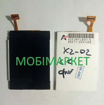 Дисплей для Nokia X2-02, X2-03, X2-05, фото 2