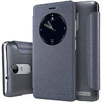 Кожаный чехол-книжка Nillkin Sparkle для Lenovo K5 Note / K5 Note Pro черный
