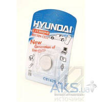 Батарейки Hyundai CR1625 1шт
