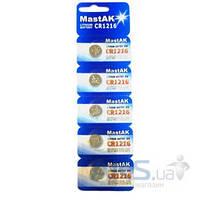 Батарейки MastAK CR1216 1шт