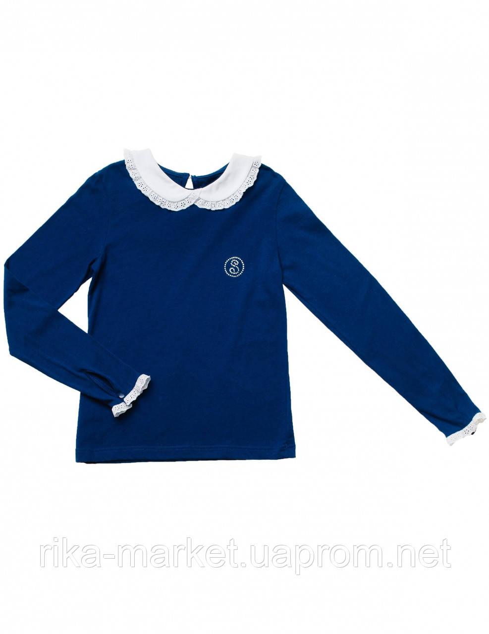 Блуза для девочки длинный рукав арт. 114213
