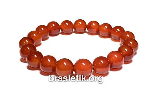 43de29450534 Браслет из натурального камня Сердолик купить, цены интернет ...