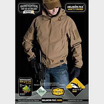Куртка GUNFIGHTER - Shark Skin Windblocker - олива ||KU-GUN-FM-02, фото 3