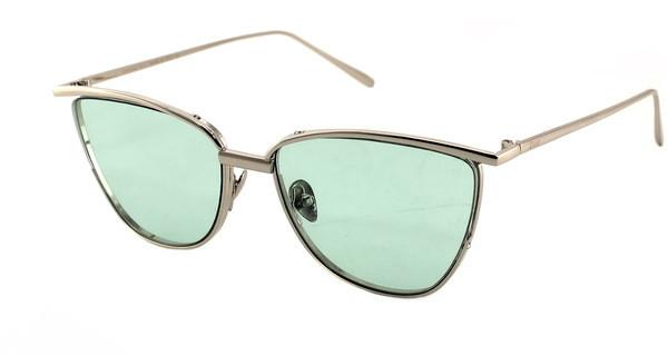 Стильные солнцезащитные очки кошачий глаз Dior