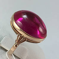 Кольцо золотое с рубином 583 пробы,СССР