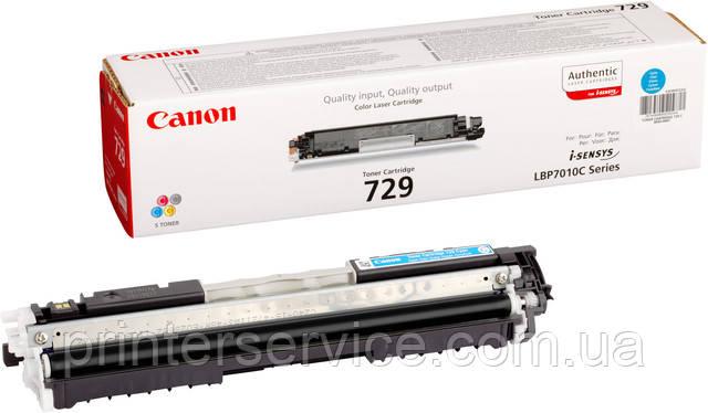 Canon 729 cyan (4369B002) для LBP-7018С/7010С
