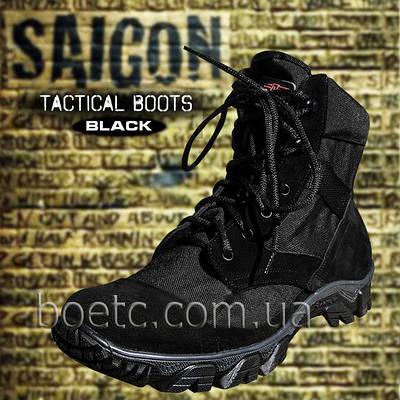 Кроссовки тактические (SAIGON) BLACK Летние