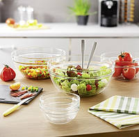 Салатники, соусницы стеклянные